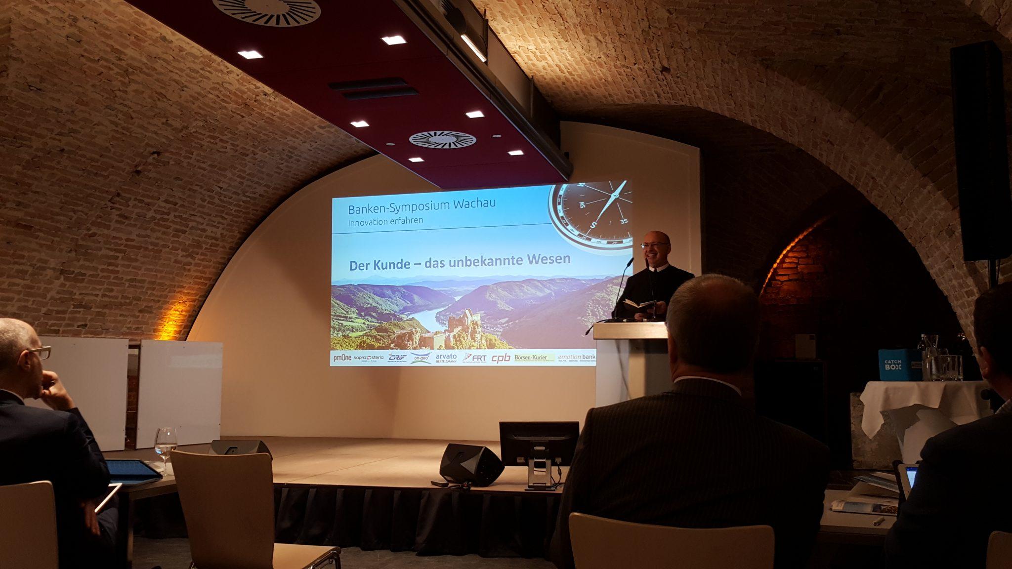 UNiQUARE zu Gast beim Banken Symposium Wachau (Österreich)