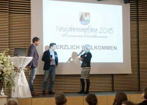 New Year's reception in Krumpendorf