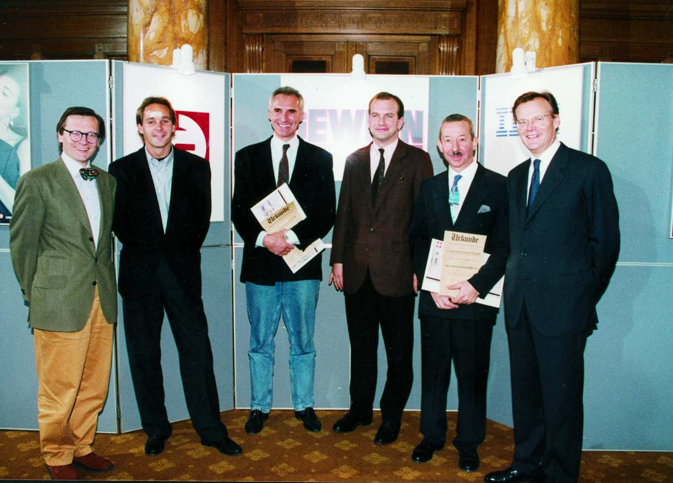 Did you know that GENESiS / UNiQUARE founder Dietmar Schwarzenbacher overtook Didi Mateschitz (Red Bull) in 1991 as an Austrian young entrepreneur of the year?