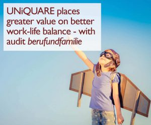 UNiQUARE in an audit process for family-friendly employers