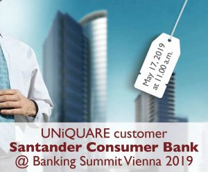 Our customer Santander with a keynote in the Banking Summit 2019