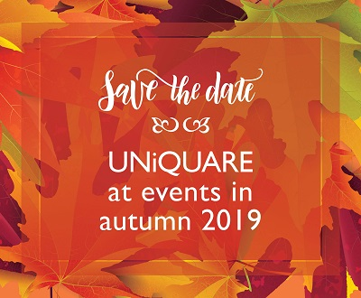 Treffen Sie Kollegen von UNiQUARE bei folgenden Veranstaltungen im Herbst 2019