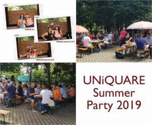 UNiQUARE summer party 2019