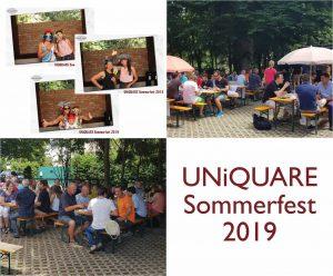 UNiQUARE Sommerfest 2019