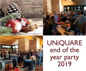 UNiQUARE end of the year party