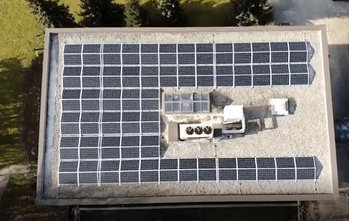 Auch wir setzen auf erneuerbare Energien
