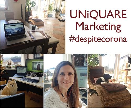 UNiQUARE Marketing #despitecorona