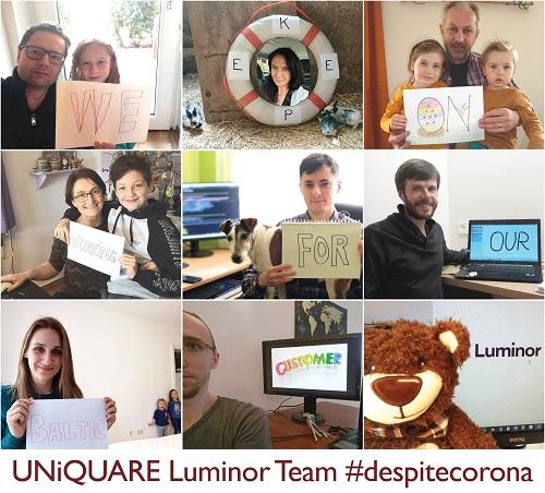 UNiQUARE Luminor Team #despitecorona