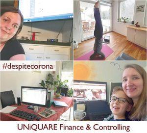 UNiQUARE Finance & Controlling #despitecorona