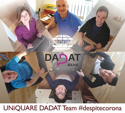 UNiQUARE DADAT Team #despitecorona