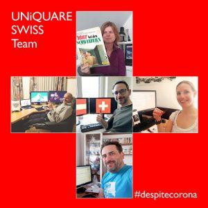 UNiQUARE SWISS Team #despitecorona