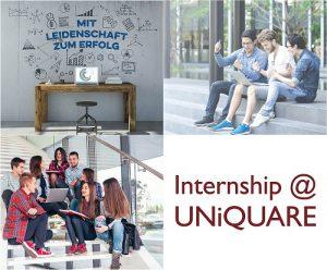 Internship 2020 at UNiQUARE