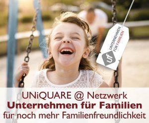 UNiQUARE ist Partner im Netzwerk Unternehmen für Familien