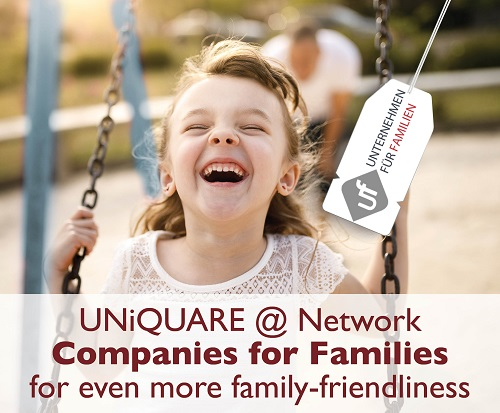 UNiQUARE is partner of the Companies for Families network