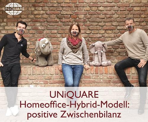 Positive Zwischenbilanz für unser Homeoffice-Hybrid-Modell