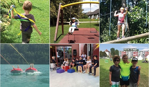 Great summer fun for the UNiQUARE kids