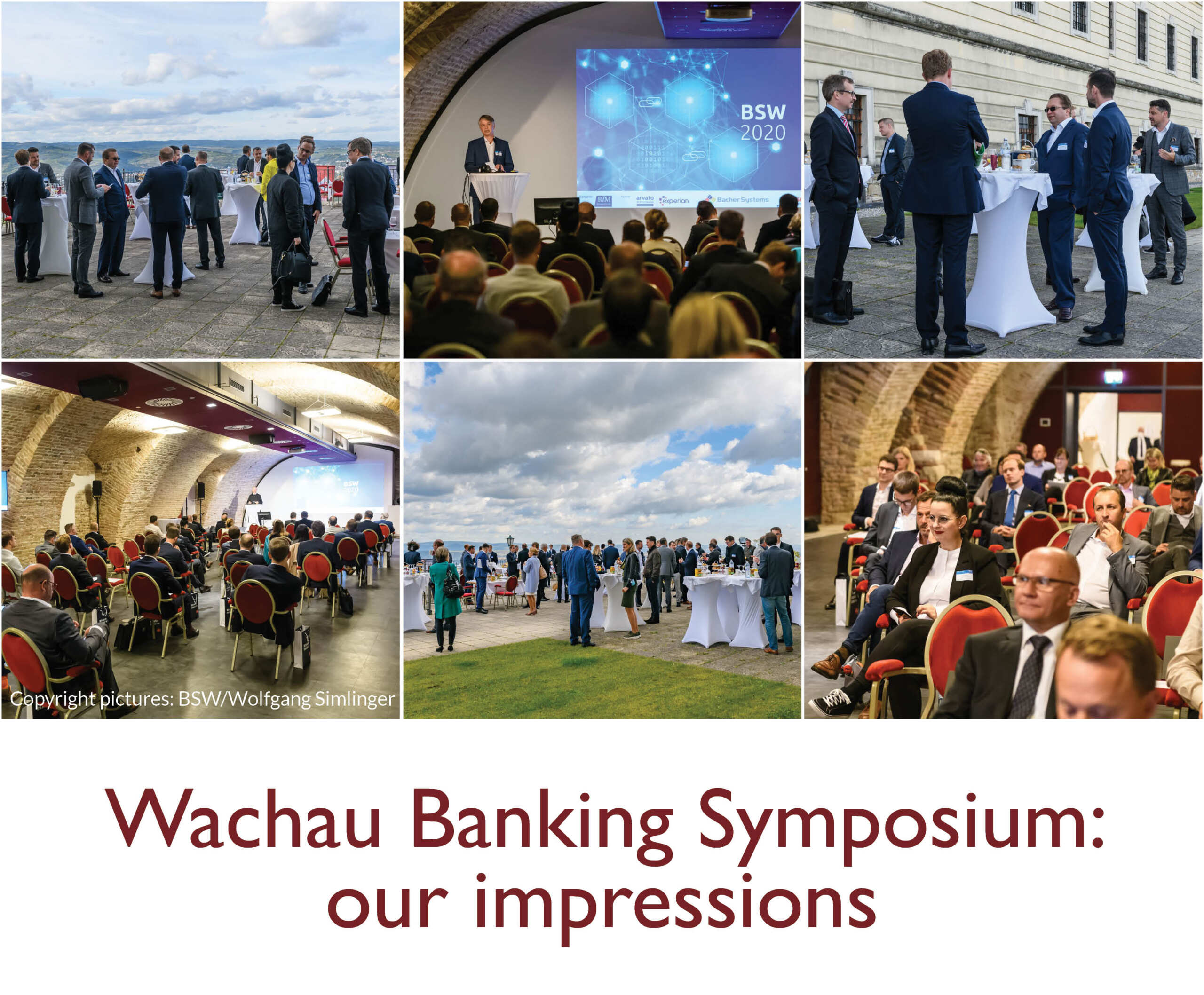 UNiQUARE as a guest in Banken-Symposium Wachau