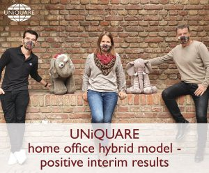 Positive interim results for our home office hybrid model