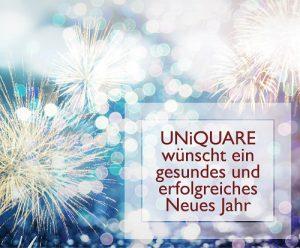 UNiQUARE Neujahrswünsche