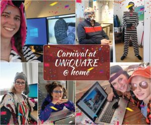 Shrove Tuesday working from home at UNiQUARE