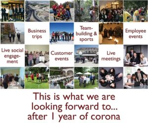 UNiQUARE and one year corona