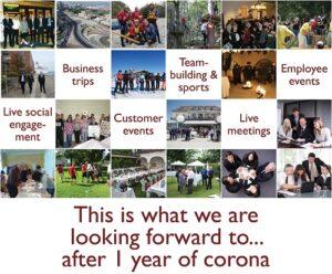 UNiQUARE und 1 Jahr Corona