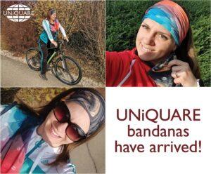UNiQUARE bandanas have arrived!