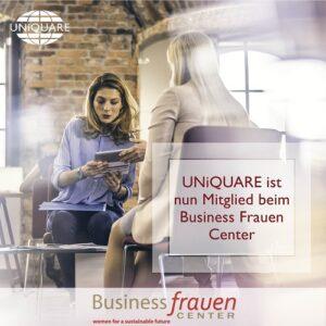 Wir sind Mitglied beim Business Frauen Center