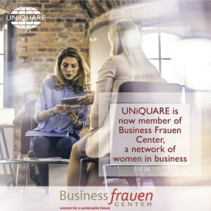 We are now member of the network women in business