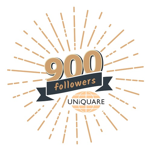 We are celebrating our 900 followers on LinkedIn…