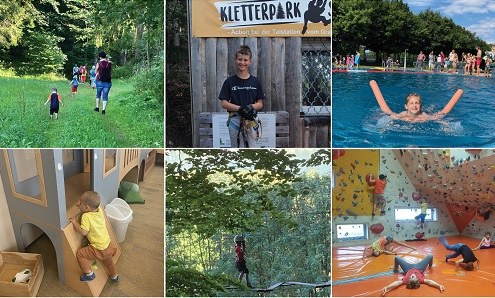 Varied summer for our UNiQUARE Kids